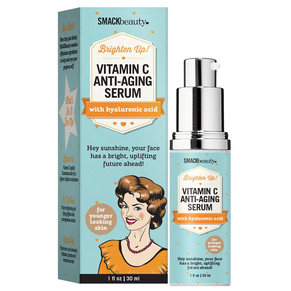 smack vitamin c anti aging serum 1oz 30ml. Black Bedroom Furniture Sets. Home Design Ideas