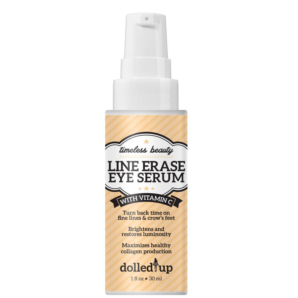 Dolled Up Vitamin C Line Erase Eye Serum in All Products