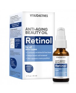 Vital Actives Anti-Aging Retinol Beauty Oil 1oz / 30ml