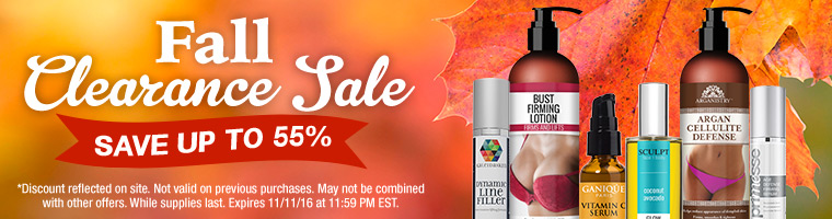 Save on Fall Skincare Blowout
