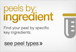 Peels  by Ingredient Type